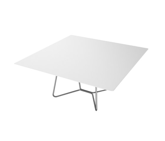 Slim Collection Lounge | Lounge Table Square 90 by Viteo | Coffee tables
