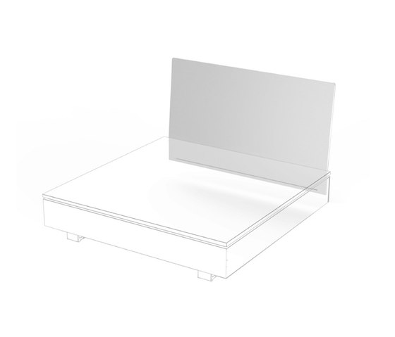 Pure Collection | Backrest de Viteo | Éléments de sièges modulables