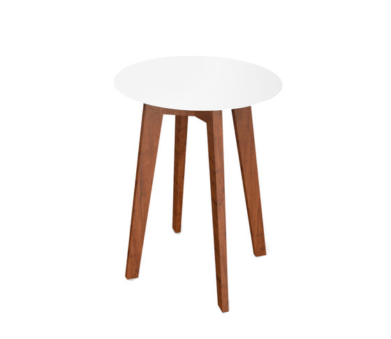 Slim wood collection dining table wood 64 dining for Slim dining table