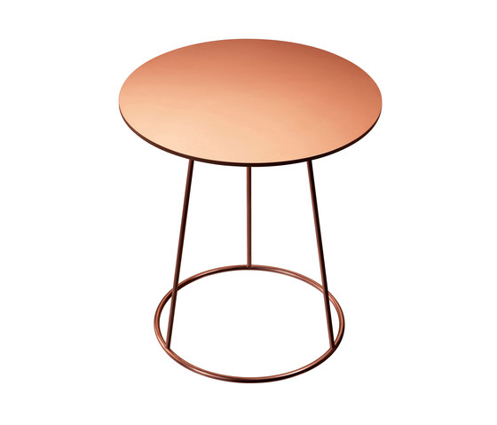Breeze copper side table by Swedese | Side tables