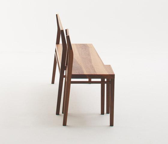 Chapter House Bench model 04 ch von Fehling & Peiz & Kraud | Wartebänke