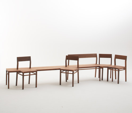 Chapter House Bench model 06 ch di Fehling & Peiz & Kraud | Panche