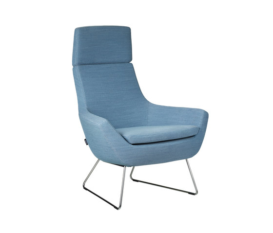 Happy easy chair high back by Swedese | Lounge chairs