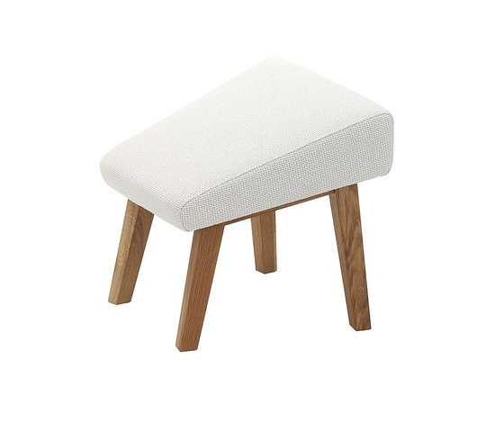 Select footstool by Swedese | Poufs
