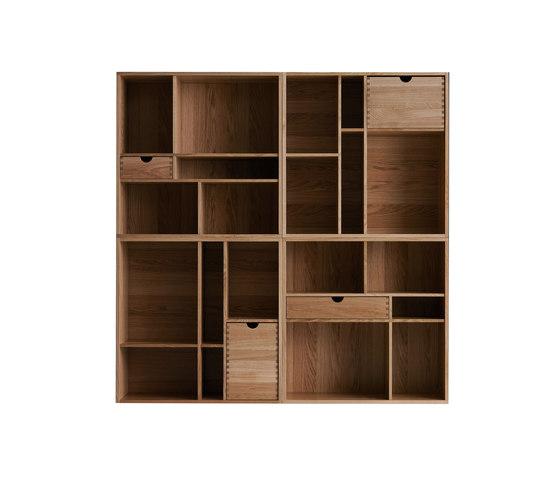 Fakta bookshelf by Swedese | Shelving