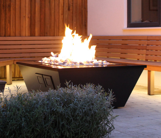 Costume Made Fire Table by Rivelin   Fire tables