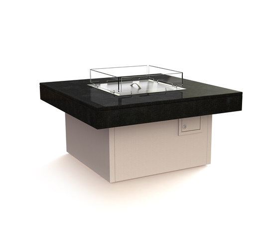 Manhattan Gas Fire Table by Rivelin | Fire tables