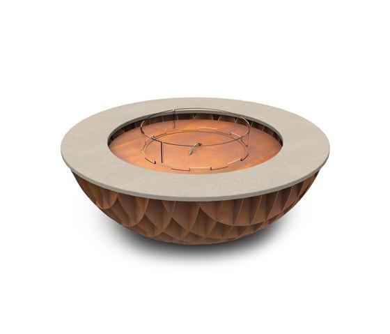 Seville Gas Fire Bowl de Rivelin | Mesas de fuego