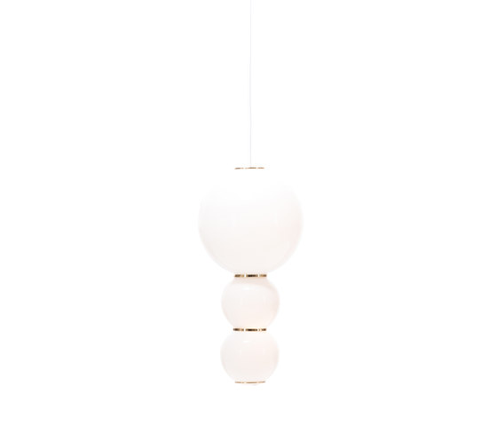 Pearls C Suspension lamp by Formagenda | Suspended lights