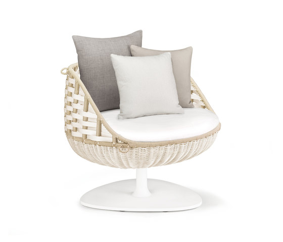 Swingrest Lounge chair, rotating by DEDON | Armchairs