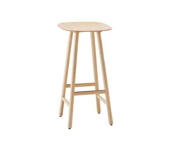 Shell SHP70T by Karl Andersson | Bar stools