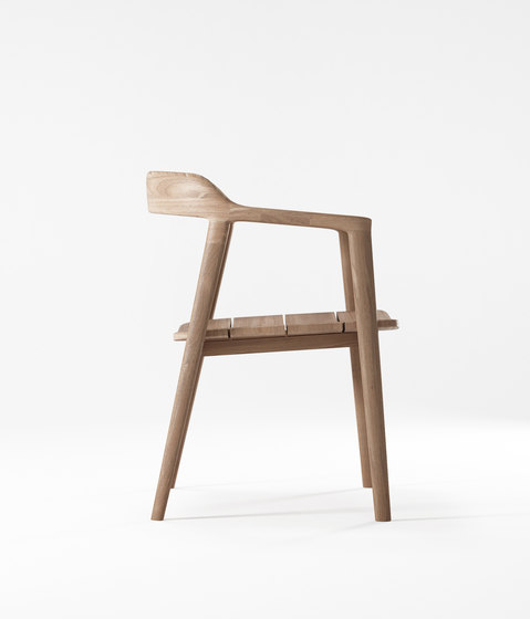 Grasshopper ARM CHAIR WITHOUT CUSHION di Karpenter | Sedie