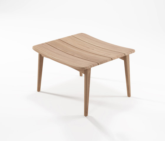 Grasshopper OTTOMAN WITHOUT CUSHION by Karpenter | Stools