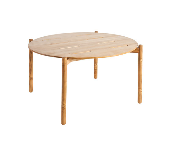 Hamp Mesa comedor redonda de Point | Mesas comedor