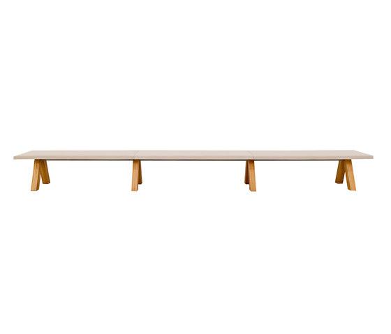 Trestle bench von viccarbe | Sitzbänke