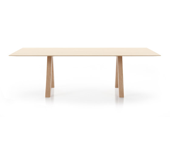 Trestle table by viccarbe | Dining tables