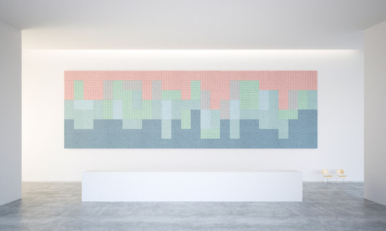 BAUX Acoustic Panels - Reception by BAUX | Wood panels