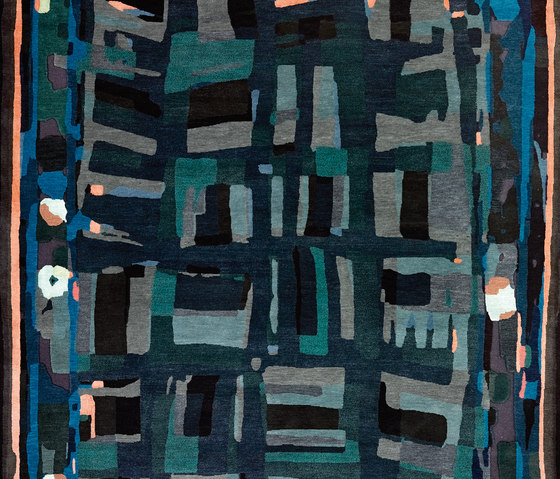 Rag Time - Blue Note by REUBER HENNING | Rugs