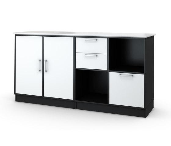 Quadro Bookcase by Cube Design | Cabinets