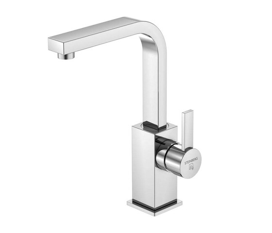 120 1510 Single lever basin mixer without pop up waste by Steinberg | Wash basin taps
