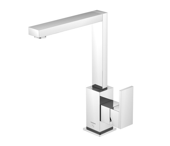 160 1511 Single lever basin mixer without pop up waste by Steinberg | Wash basin taps