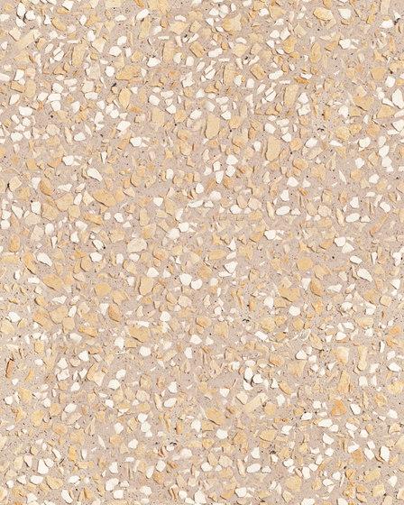 Sassoitalia Floor - Cammello, Grigio, Giallo oro-Botticino di Ideal Work | Pavimenti calcestruzzo / cemento