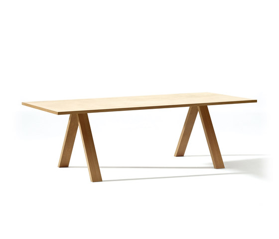 Cross Table di Arper | Scrivanie individuali