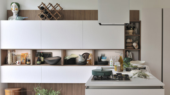 Oyster Pro von Veneta Cucine | Einbauküchen