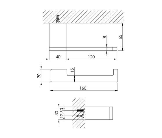 420 2800 Toilet roll holder by Steinberg   Paper roll holders
