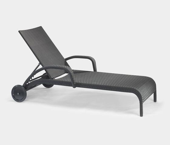 Saint Tropez deck chair di Lambert | Sdraio da giardino
