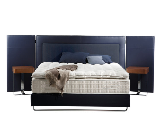 Sleeping Systems Collection Platinum | Headboard Escale by Treca Paris | Double beds