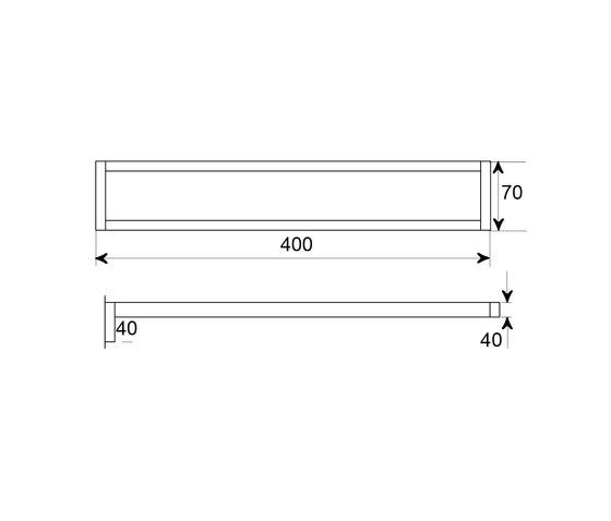 460 2550 Towel holder by Steinberg | Towel rails