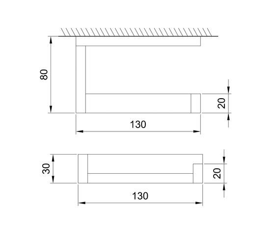 460 2800 Toilet roll holder by Steinberg | Paper roll holders