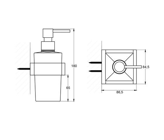 460 8002 Soap dispenser by Steinberg | Soap dispensers