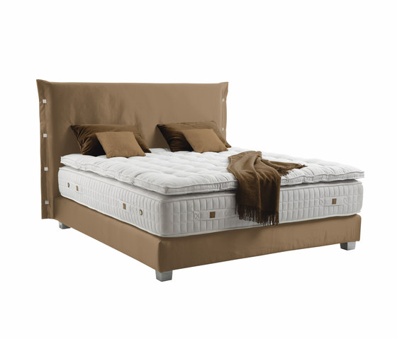 Sleeping Systems Collection Prestige | Headboard Trench by Treca Paris | Double beds