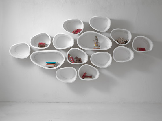 Favo by IMPERFETTOLAB SRL | Wall shelves