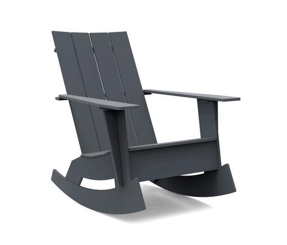 Adirondack 4 Slat Rocker von Loll Designs   Sessel