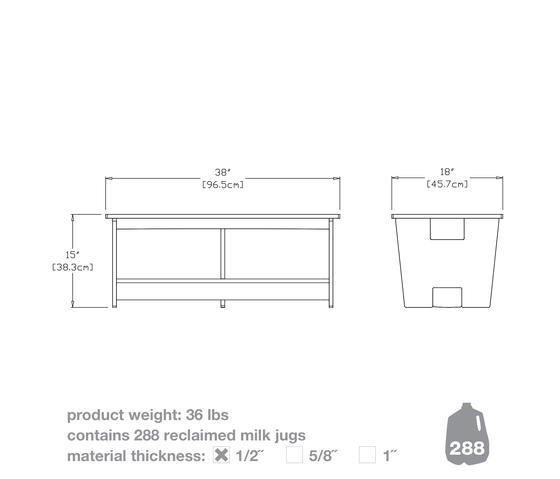 Go Coffee Table von Loll Designs | Garten-Couchtische