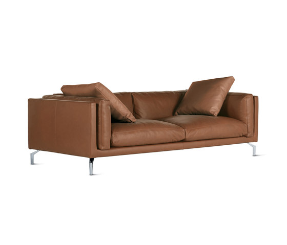 como 92 sofa in leather sofas by design within reach architonic