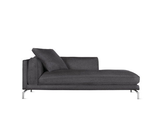 Como Chaise in Fabric, Left by Design Within Reach | Modular seating elements