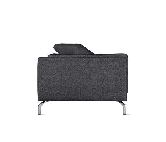 Como One-Arm Sofa in Fabric, Left von Design Within Reach | Modulare Sitzelemente