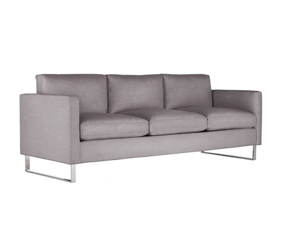 Goodland Sofa in Fabric, Stainless Legs by Design Within Reach | Sofas