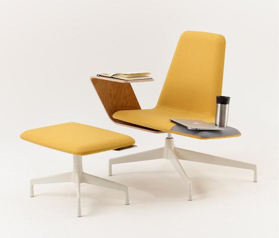 Harbor Work Lounge Chair de Haworth | Sillones