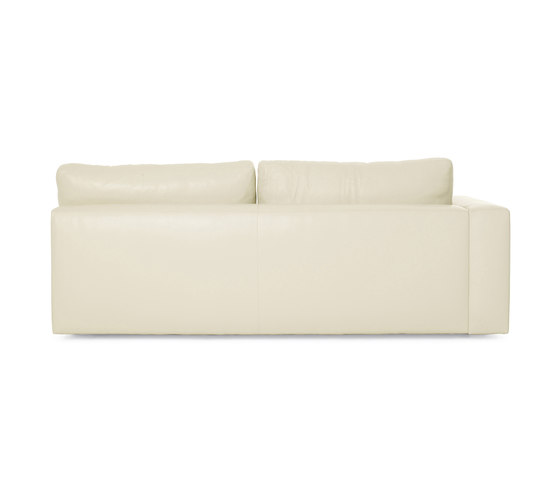 Reid One-Arm Sofa Left in Leather by Design Within Reach | Modular seating elements