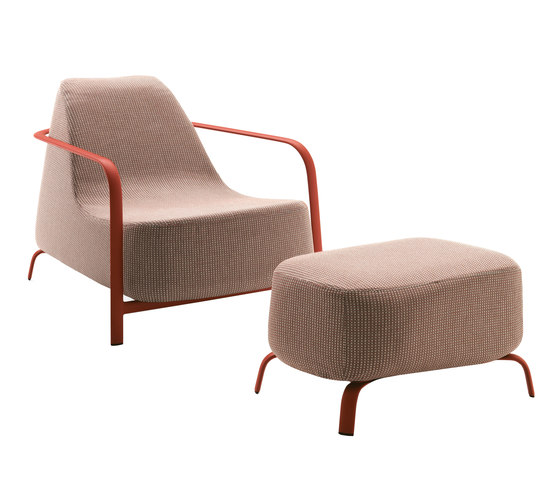Bigfoot armchair + pouf by Fast | Armchairs