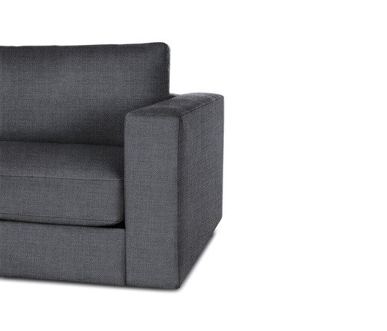 Reid One-Arm Right in Fabric by Design Within Reach | Modular seating elements