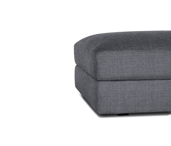 Reid Cocktail Ottoman in Fabric by Design Within Reach | Poufs