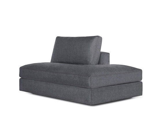 Reid Side Chaise Right in Fabric by Design Within Reach | Sofas