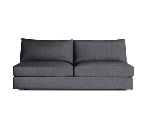 Reid Armless Sofa in Fabric by Design Within Reach | Sofas
