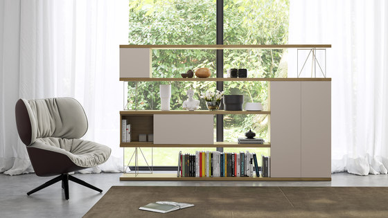 Ingravitta by BK CONTRACT | Shelving